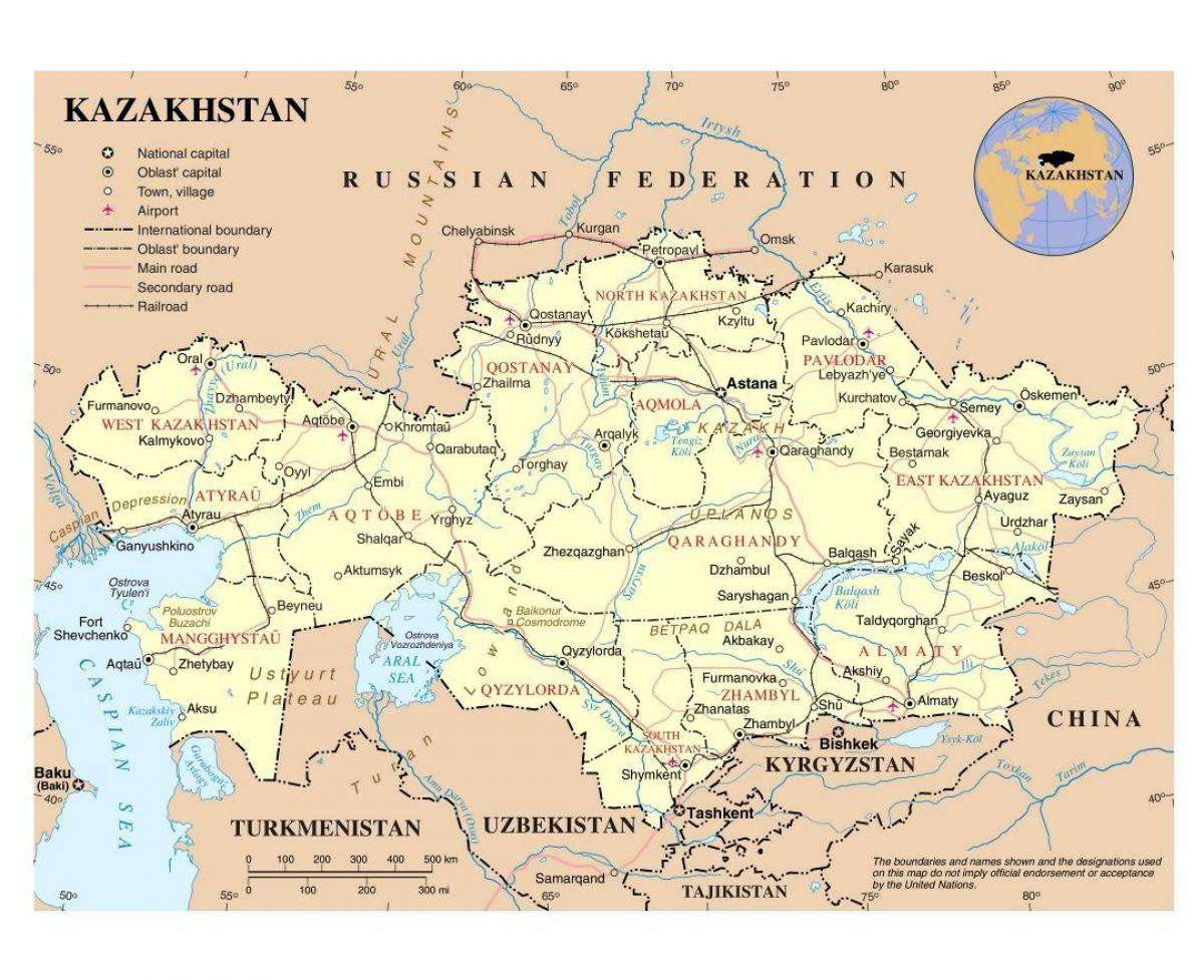 Kazahstan Karti Zracne Luke Na Karti Zracne Luke Kazahstana